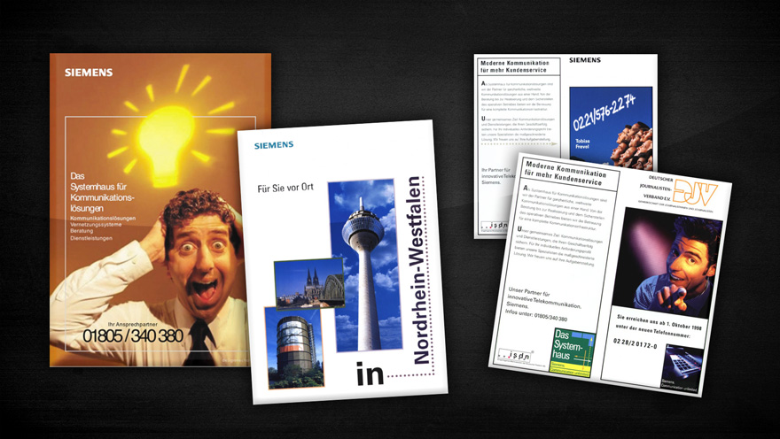 Siemens – misc. adverts & flyers